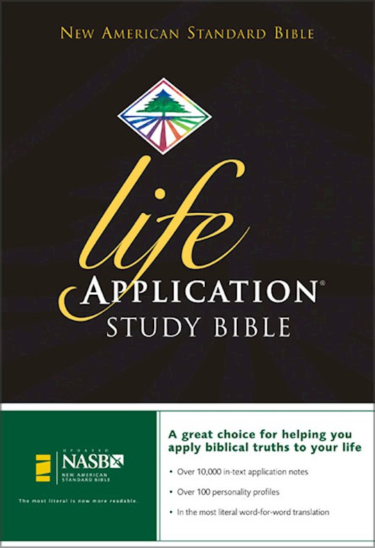 NASB Life Application Study Bible-Hardcover   SHOPtheWORD