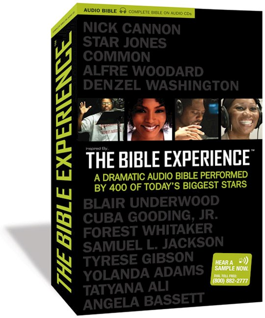 Audio CD-Inspired By...The Bible Experience-The Complete Bible (79 CD) | SHOPtheWORD