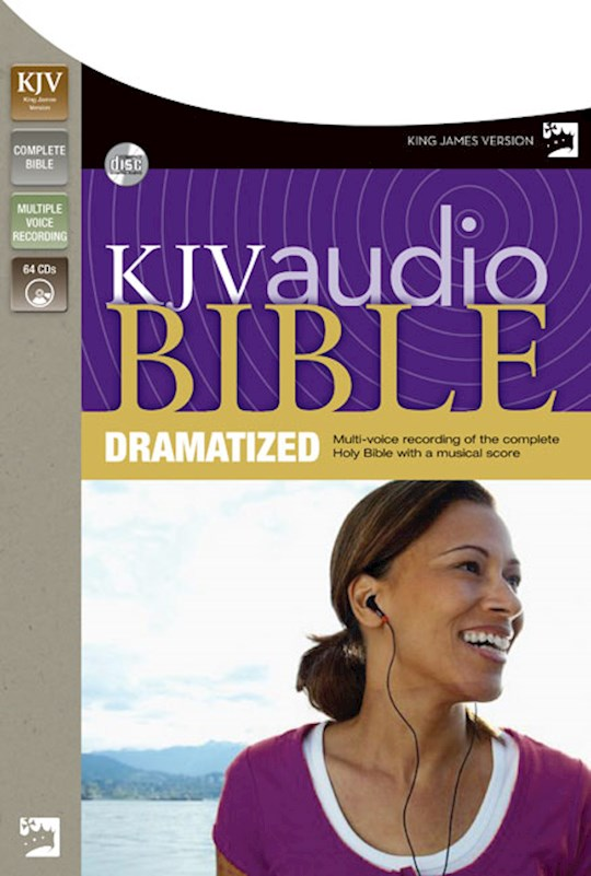 Audio CD-KJV Complete Bible-Dramatized (64 CD) | SHOPtheWORD