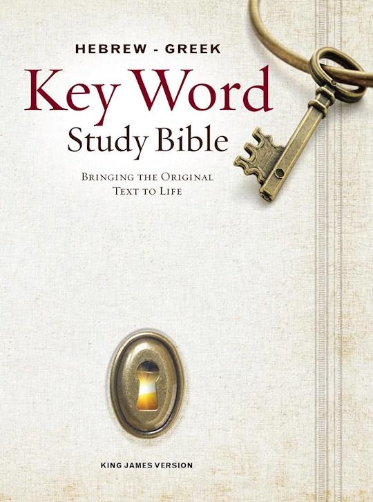 KJV Hebrew-Greek Key Word Study-Hardcover (New) | SHOPtheWORD