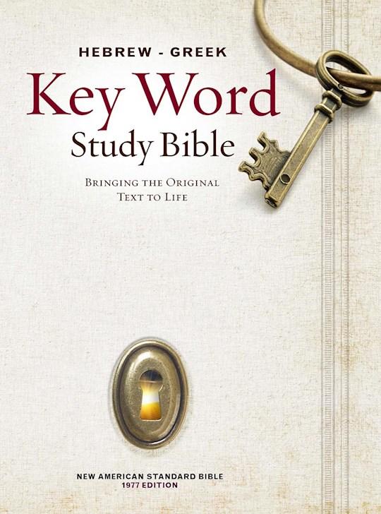 NASB Hebrew-Greek Key Word Study-Hardcover (New)   SHOPtheWORD
