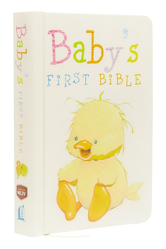 NKJV Baby's First Bible-Hardcover | SHOPtheWORD