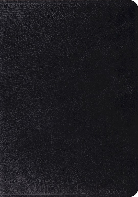 ESV Study Bible-Black Genuine Leather | SHOPtheWORD