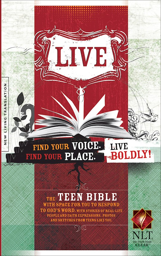 NLT Live Teen Bible-Hardcover | SHOPtheWORD