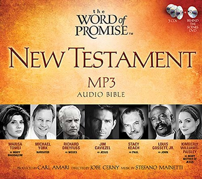 Audio CD-NKJV Word Of Promise New Testament Audio (MP3) | SHOPtheWORD