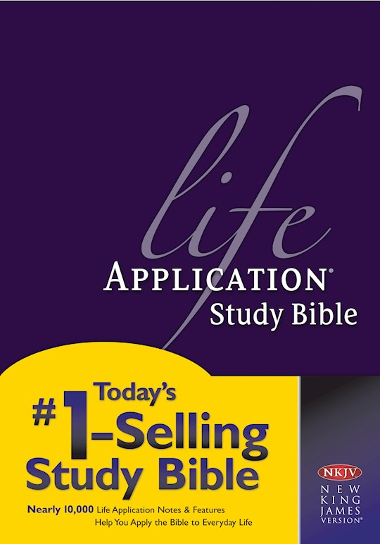 NKJV Life Application Study Bible-Hardcover | SHOPtheWORD