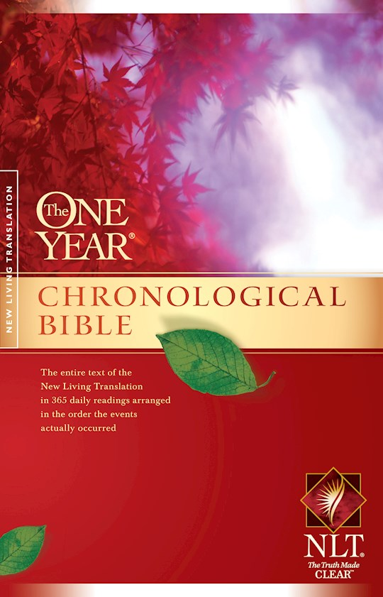 NLT One Year Chronological Bible-Softcover | SHOPtheWORD