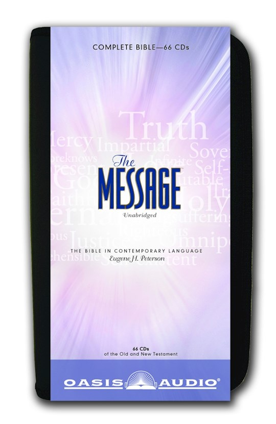 Audio CD-Message Bible-Complete W/Case (New) (66 CD) | SHOPtheWORD