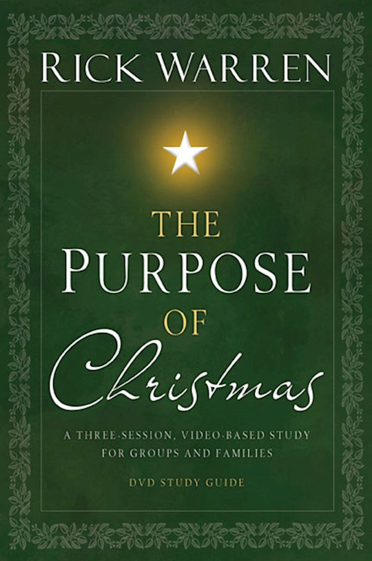 The Purpose Of Christmas Study Guide by Rick Warren | SHOPtheWORD
