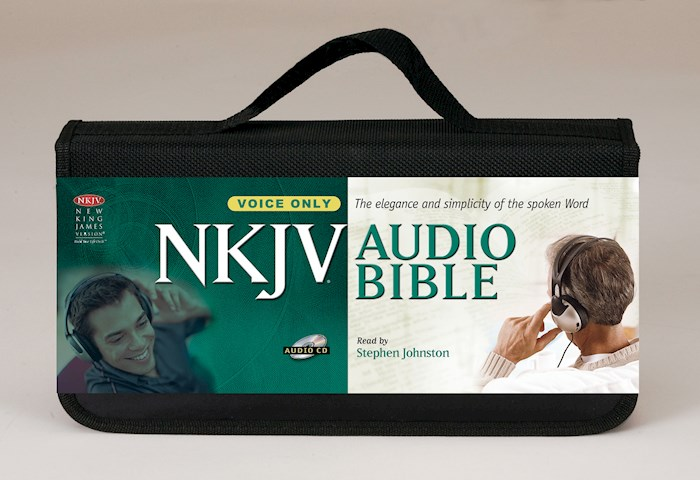 Audio CD-NKJV Complete Bible (Voice Only) (58 CD)   SHOPtheWORD
