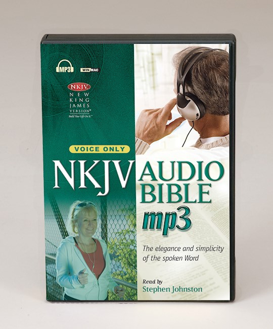 Audio CD-NKJV Complete Bible (Voice Only)-MP3 (3 CD) | SHOPtheWORD