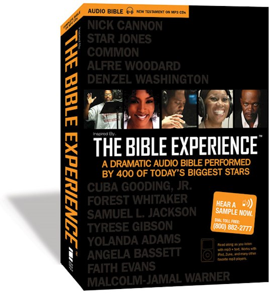 Audio CD-Inspired By...The Bible Experience-The Complete Bible (MP3) | SHOPtheWORD