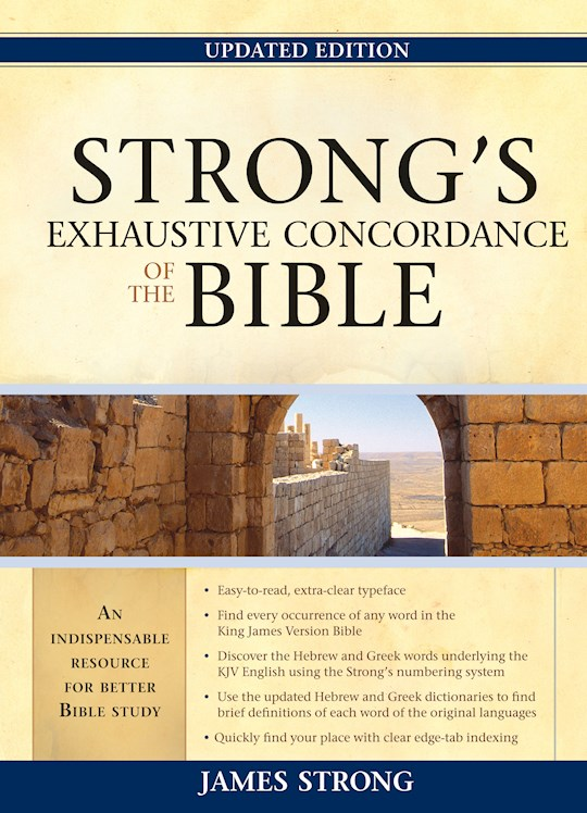 Strong's Exhaustive Concordance Of The Bible (Updated) (Value Price) by James Strong | SHOPtheWORD