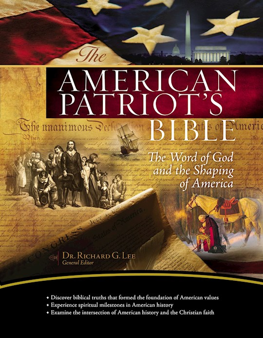 NKJV American Patriot's Bible-Hardcover   SHOPtheWORD