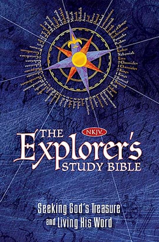 NKJV Explorer's Study Bible-Hardcover | SHOPtheWORD