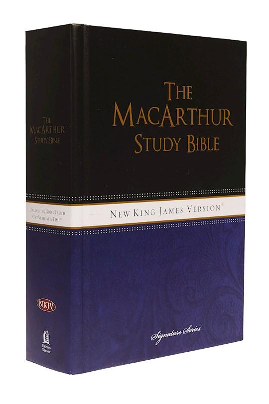 NKJV MacArthur Study Bible/Large Print-Hardcover Indexed   SHOPtheWORD
