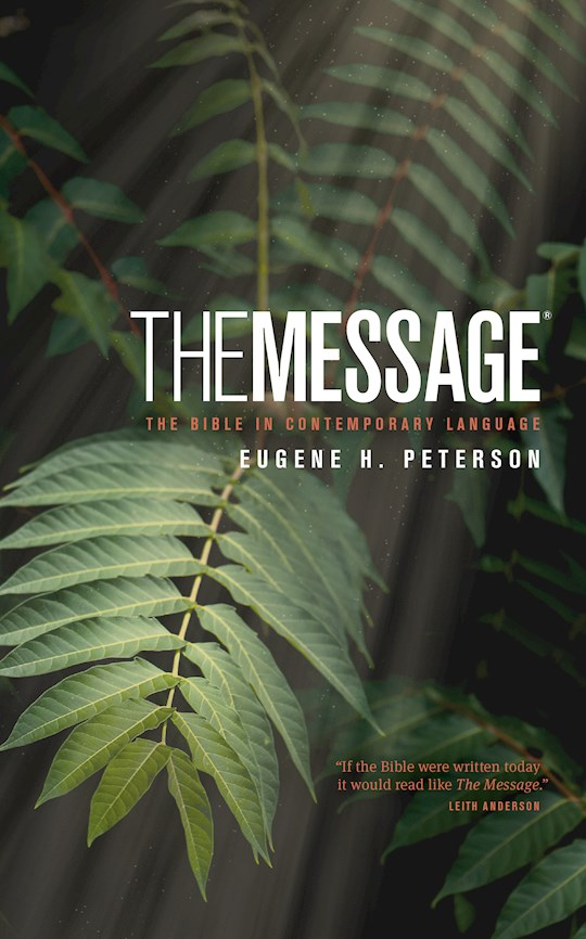 The Message/Personal Size Bible (Numbered Edition)-Hardcover | SHOPtheWORD