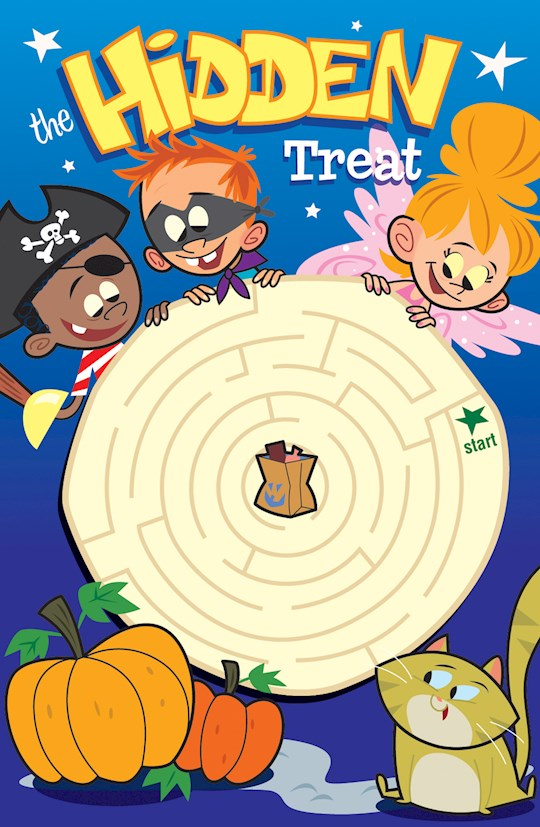 Tract-Halloween: Hidden Treat (KJV) (Redesign) (Pack Of 25) by News Tracts Good | SHOPtheWORD