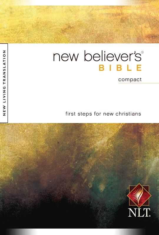 NLT New Believer's Compact Bible-Softcover | SHOPtheWORD
