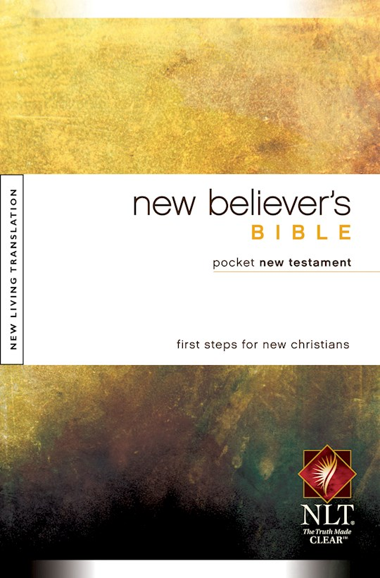 NLT New Believer's Pocket New Testament-Softcover | SHOPtheWORD