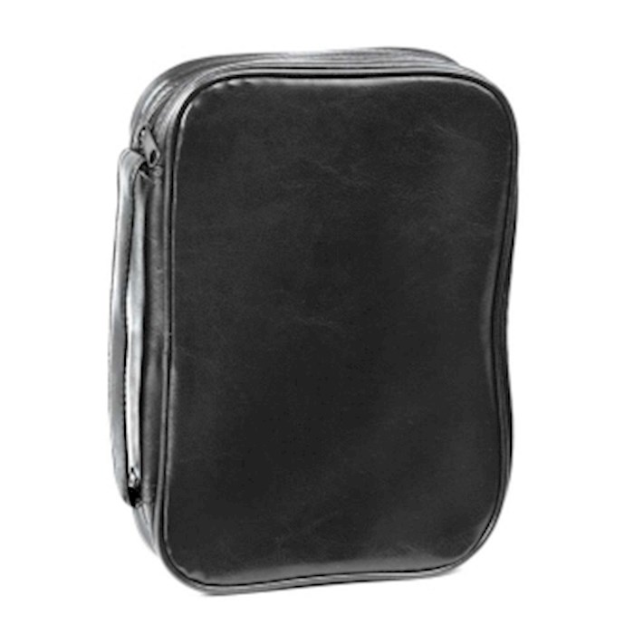 Bible Cover-Leatherette Classic (Dake)-XX Large-Black  | SHOPtheWORD