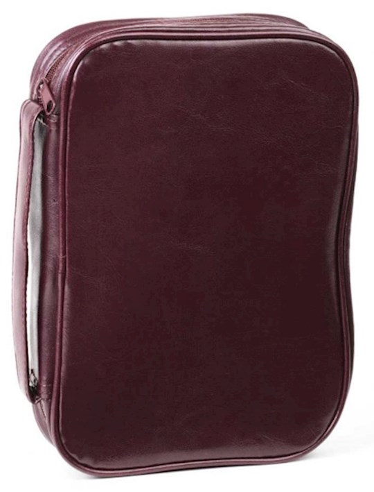 Bible Cover-Leatherette Classic-XX Large-Burgundy   SHOPtheWORD