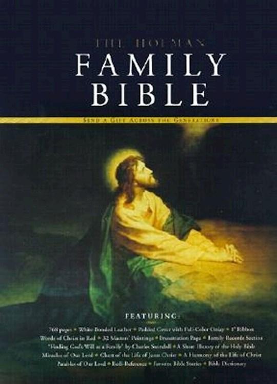 KJV Holman Family Bible-White Bonded Leather | SHOPtheWORD