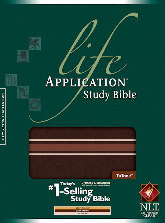 NLT Life Application Study Bible (Second Ediiton)-Brown/Tan TuTone (Not Available-Out Of Print) | SHOPtheWORD