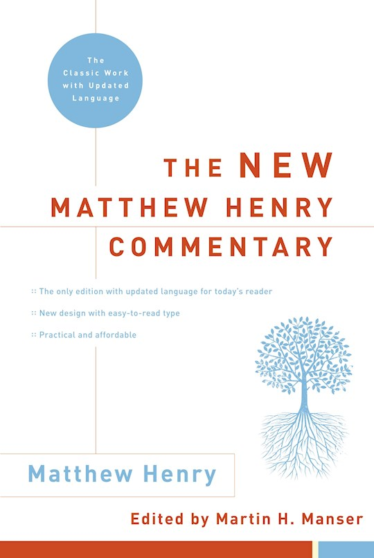New Matthew Henry Commentary (Updated)  by Matthew Henry | SHOPtheWORD