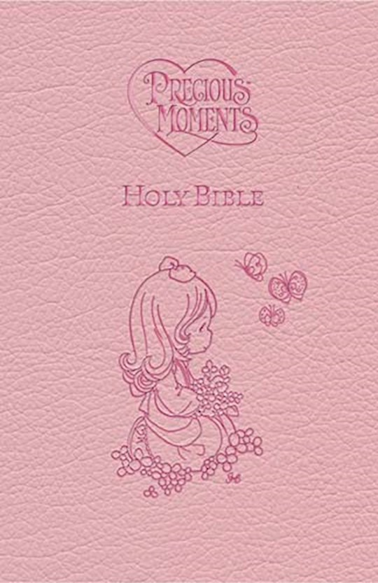 ICB Precious Moments Holy Bible-Pink LeatherSoft | SHOPtheWORD