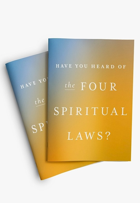 Four Spiritual Laws (Pack of 25) by Bill Bright | SHOPtheWORD