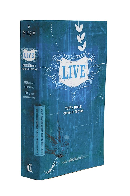 NRSV Live Youth Bible (Catholic Edition)-Softcover | SHOPtheWORD