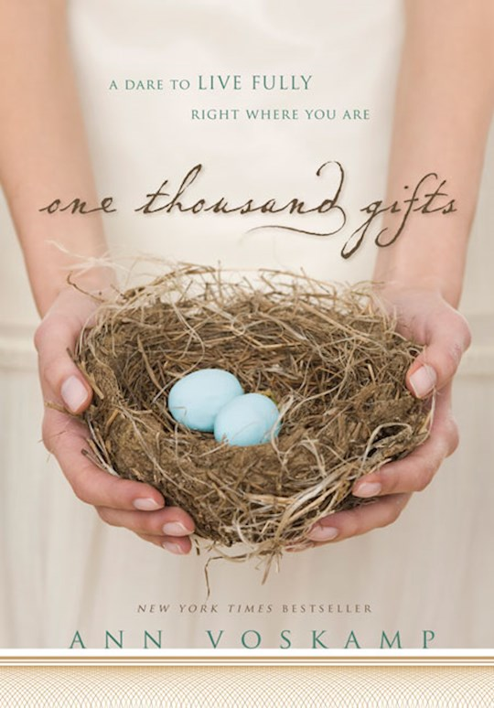 One Thousand Gifts by Ann Voskamp | SHOPtheWORD