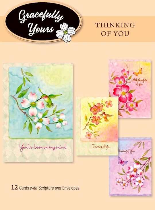 Card-Boxed-Thinking-Grace To You #016 (Box Of 12) | SHOPtheWORD