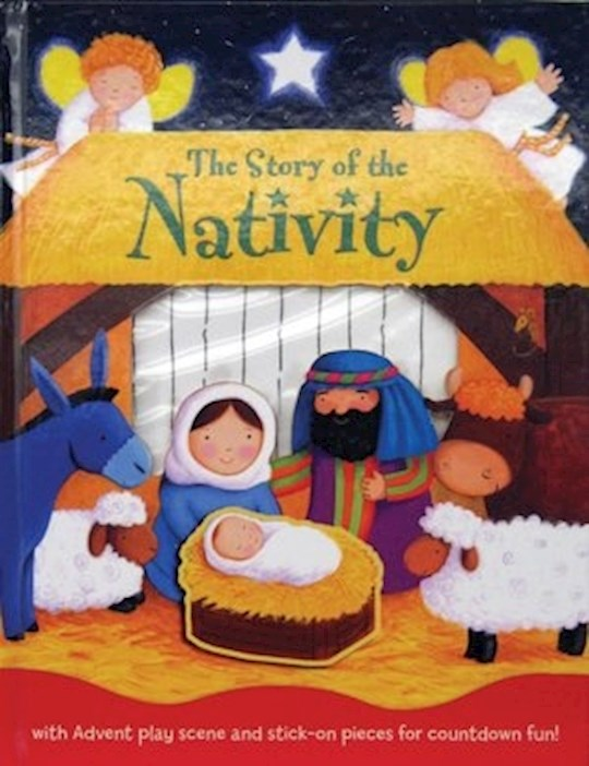 The Story Of The Nativity Advent Activity Book by Estelle Corke | SHOPtheWORD