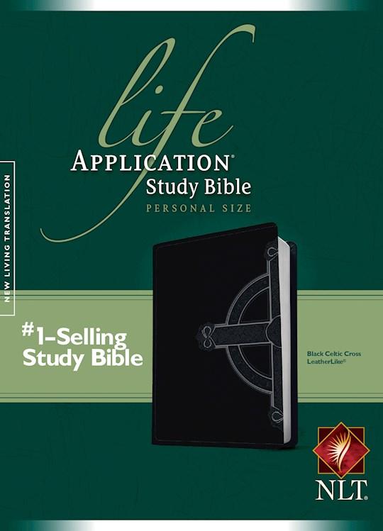 NLT Life Application Study Bible/Personal Size-Black Celtic TuTone | SHOPtheWORD