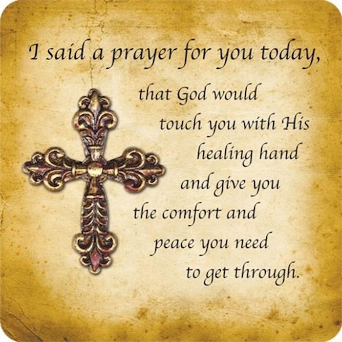 Magnet-Easelback-I Said A Prayer For You/Healing | SHOPtheWORD