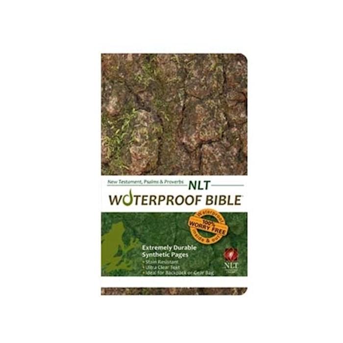 NLT Waterproof Bible New Testament W/Psalms & Proverbs-Camouflage | SHOPtheWORD