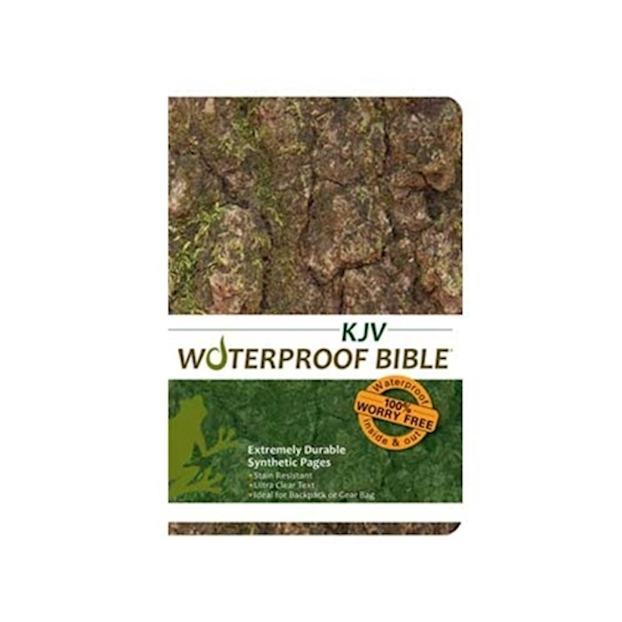 KJV Waterproof Bible-Camouflage | SHOPtheWORD