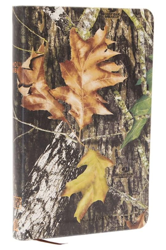 KJV UltraSlim Bible-Mossy Oak Camouflage LeatherSoft   SHOPtheWORD