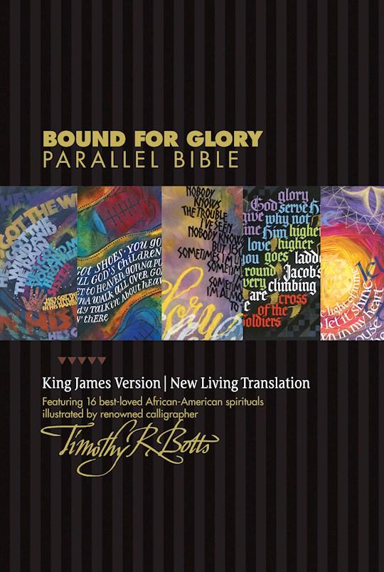 NLT/KJV Bound For Glory Parallel Bible-Hardcover   SHOPtheWORD