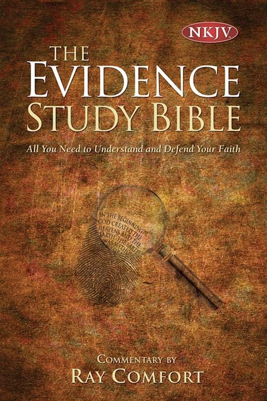 NKJV Complete Evidence Bible-Hardcover  | SHOPtheWORD