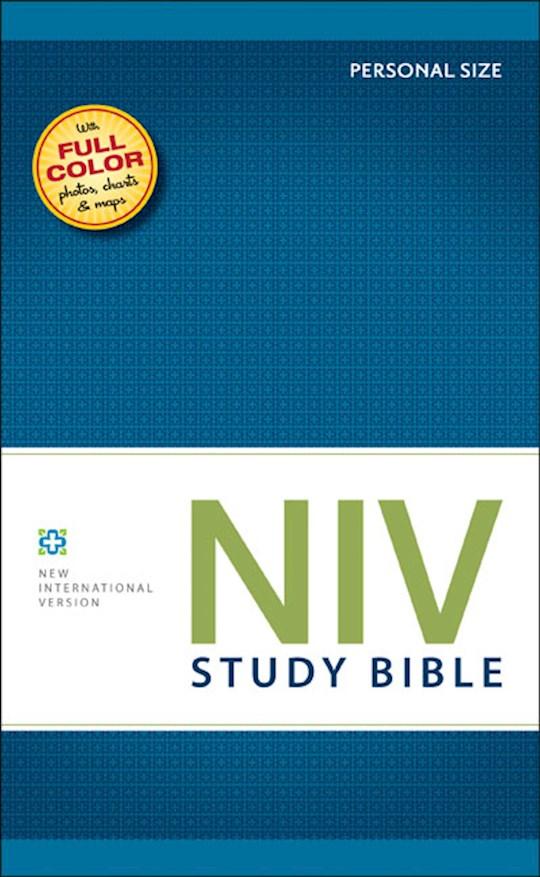 NIV Study Bible/Personal Size-Hardcover | SHOPtheWORD