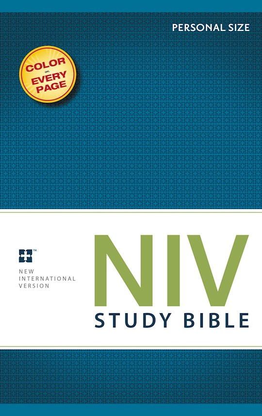 NIV Study Bible/Personal Size-Softcover   SHOPtheWORD