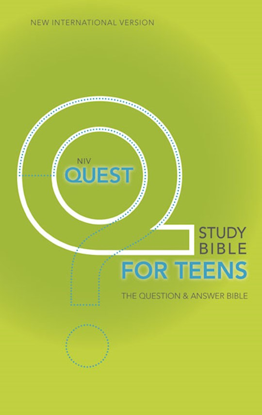 NIV Quest Study Bible For Teens-Hardcover | SHOPtheWORD