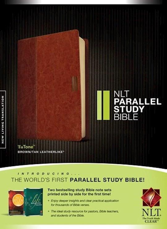 NLT Parallel Study Bible-Brown/Tan TuTone  | SHOPtheWORD