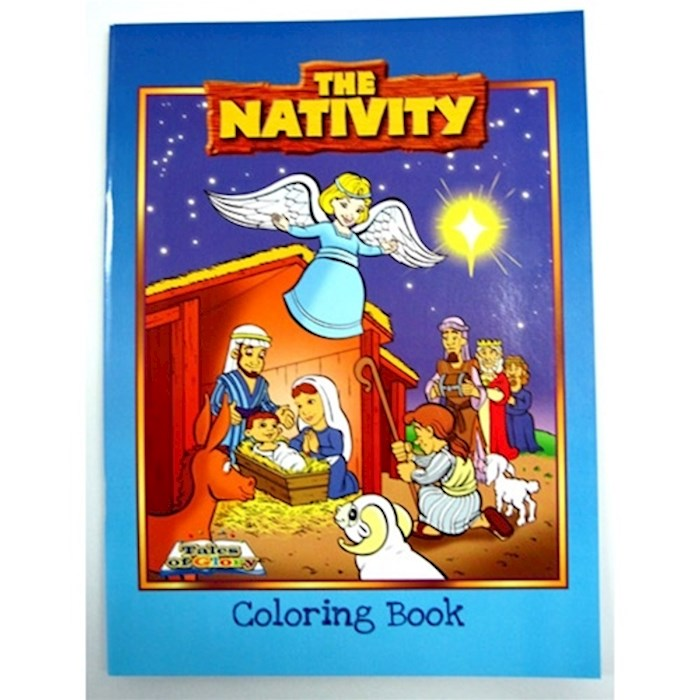 Coloring Book-Tales Of Glory: Nativity by Of Glory Tales | SHOPtheWORD