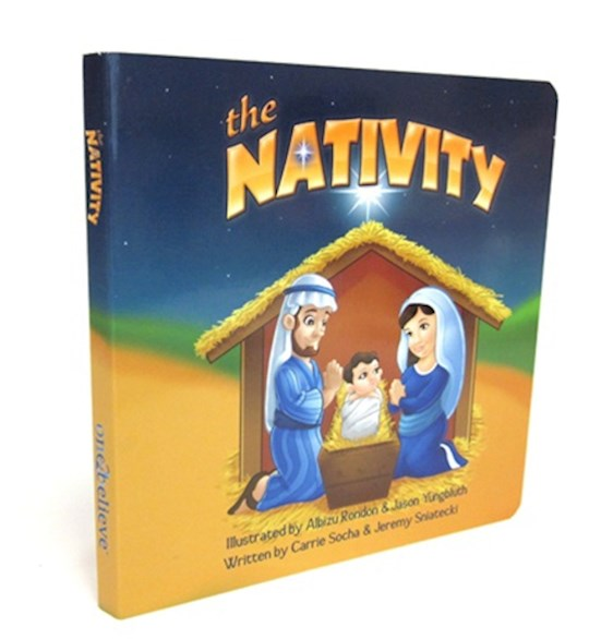 Nativity Board Book by Carrie Socha | SHOPtheWORD