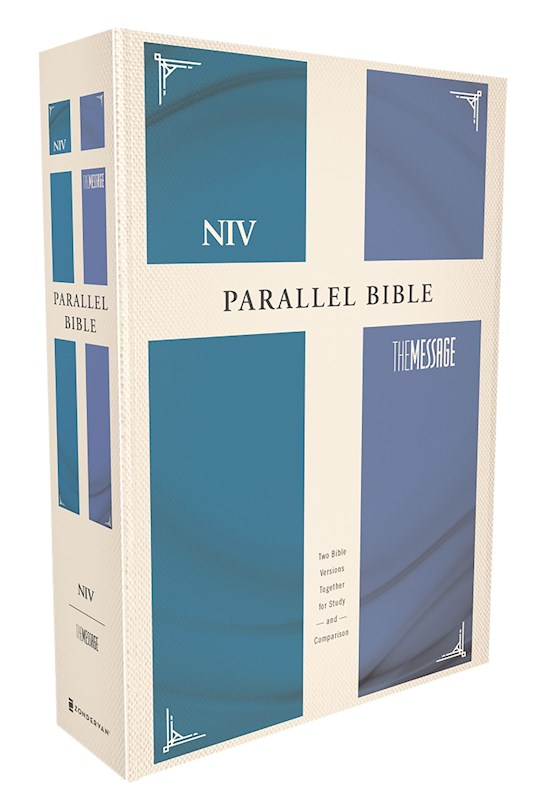 NIV & Message Side-By-Side Bible-Hardcover | SHOPtheWORD