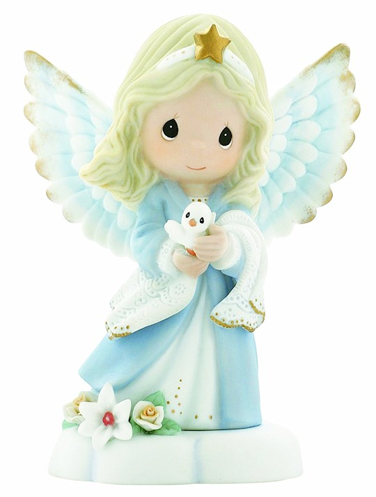 Figurine-Bereavement-Angel w/Dove | SHOPtheWORD
